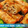 Bánh cuốn chà ram Hà Tĩnh Nghệ An, chả giò