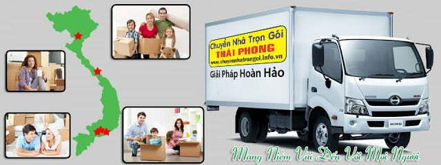 Dịch vụ chuyển nhà trọn gói công ty Thái Phong