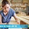TOP 3 DỊCH VỤ THÁO LẮP TỦ TPCHM