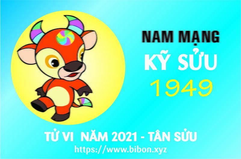 TỬ VI NĂM 2021 TUỔI KỶ SỬU 1949 NAM MẠNG