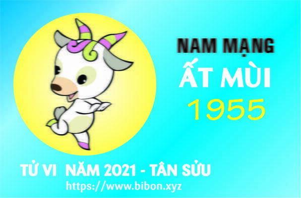 TỬ VI NĂM 2021 TUỔI ẤT MÙI 1955 NAM MẠNG