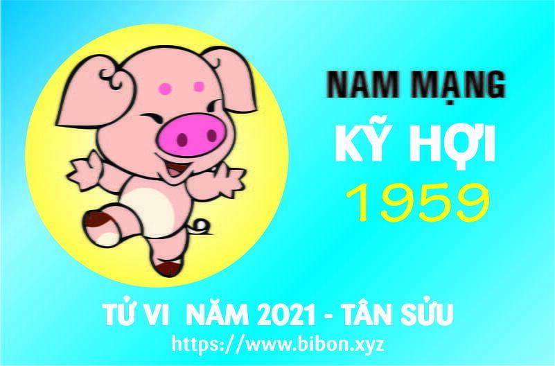 TỬ VI NĂM 2021 TUỔI KỶ HỢI 1959 NAM MẠNG