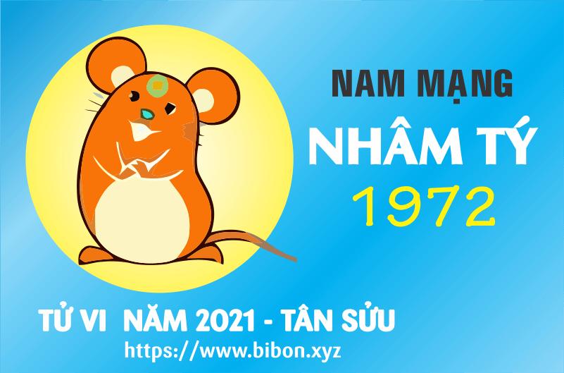 TỬ VI NĂM 2021 TUỔI NHÂM TÝ 1972 NAM MẠNG
