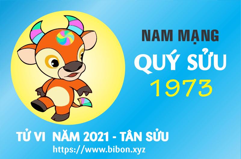 TỬ VI NĂM 2021 TUỔI QUÝ SỬU 1973 NAM MẠNG