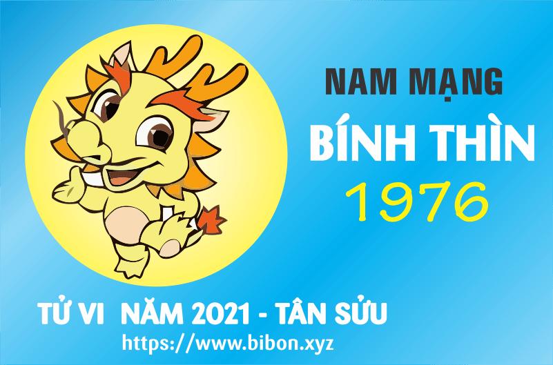 TỬ VI NĂM 2021 TUỔI BÍNH THÌN 1976 NAM MẠNG