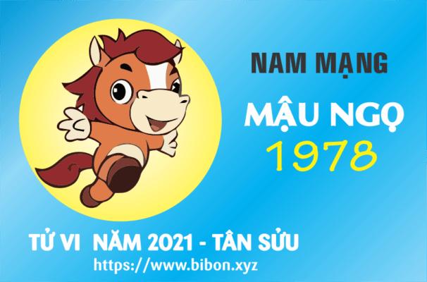 TỬ VI NĂM 2021 TUỔI MẬU NGỌ 1978 NAM MẠNG