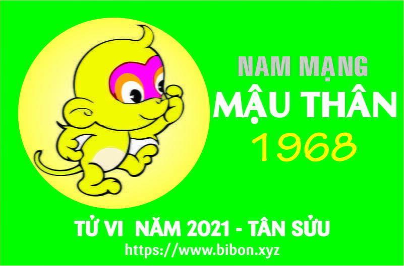 TỬ VI NĂM 2021 TUỔI MẬU THÂN 1968 NAM MẠNG