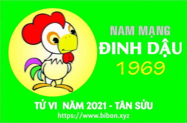 TỬ VI NĂM 2021 TUỔI KỶ DẬU 1969 NAM MẠNG