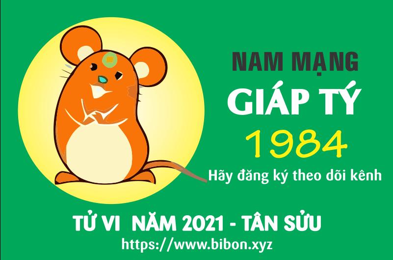 TỬ VI NĂM 2021 TUỔI GIÁP TÝ 1984 NAM MẠNG