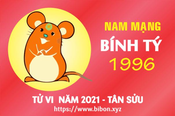 TỬ VI NĂM 2021 TUỔI BÍNH TÝ 1996 NAM MẠNG