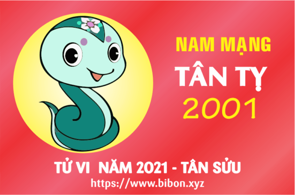 TỬ VI NĂM 2021 TUỔI TÂN TỴ 2001 NAM MẠNG