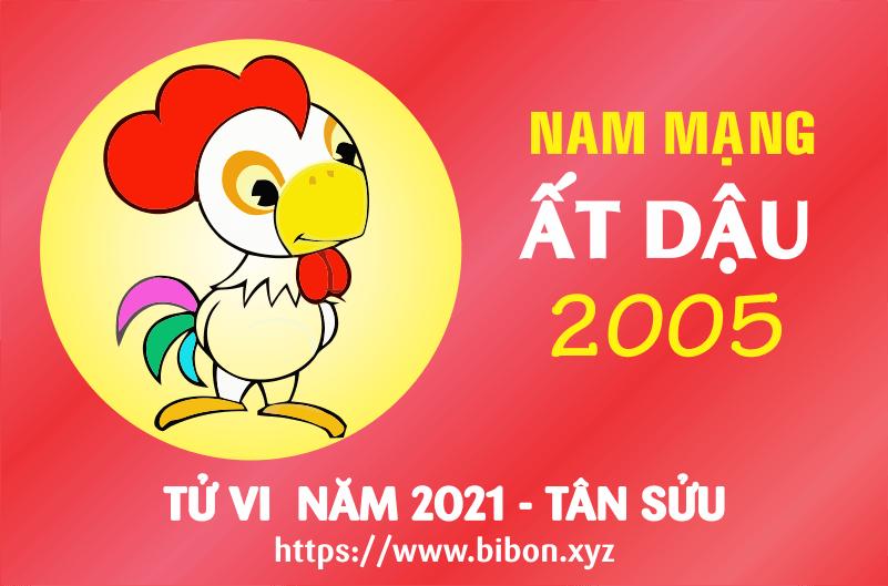 TỬ VI NĂM 2021 TUỔI ẤT DẬU 2005 NAM MẠNG