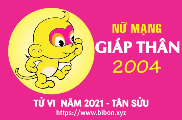 TU VI NAM 2021 TUOI 2004 NU MANG